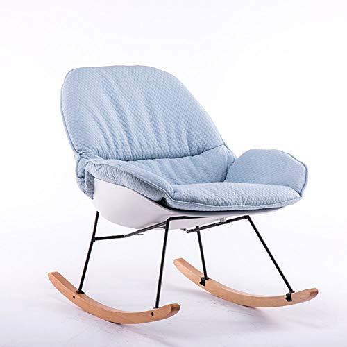 FEE-ZC Gartenstuhl Klappstuhl Tagesliege FüR Erwachsene Balkon Wicker Lounge Balkon Single Sonnenliege Moderner Und Einfacher Deckchair Klappbarer Komfortabler Hochlehner -