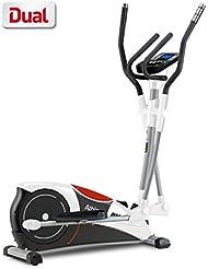 BH Fitness ATHLON DUAL G2336U Crosstrainer, Ellipsentrainer, Anschluss von Smartphones/Tablets, 10 Programme
