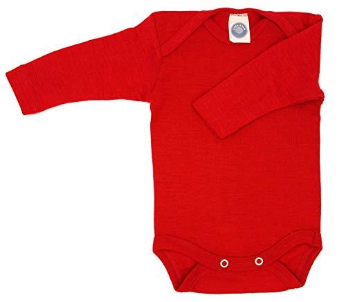 Cosilana - Body per neonati, 70% in lana e 30% in