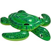 Kinderbadespaß 152cm Durchmesser Beachparty Aufblasbare Schildkröte See-Schildkröte ca