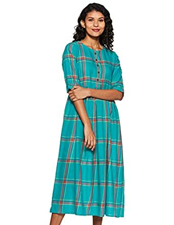 Akkriti By Pantaloons Cotton a-line Dress