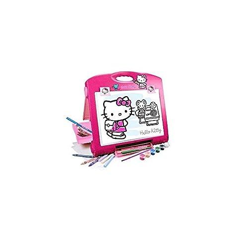 Faro Hello Kitty Artist's Table Art Easel - Hello Kitty Birthday Giochi