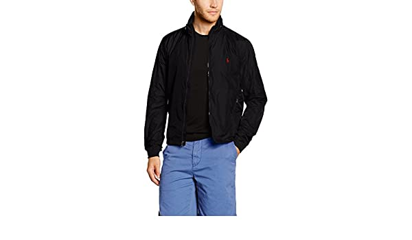 Polo BlousonNoirpolo Lauren Retford Wb Ralph Lined Jacket Black WD2EH9I
