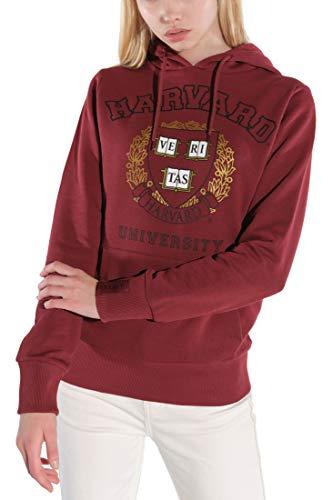 Course Damen Hoodie Original Druck Harvard Kapuzenpullover Sweatshirt Kapuze
