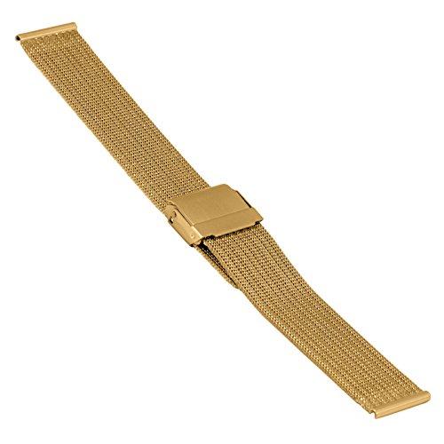 SOC Milanaisearmband Edelstahl ST-YG-2908-20885SBL Anstoß 20 mm Gold