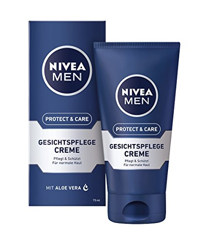 Nivea Men Protect & Care Gesichtspflege Creme, 1er Pack (1 x 75 ml)