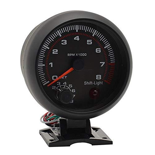 termometro digitale Misuratore di temperatura dellacqua Misuratore di temperatura per moto Monitor per tester luce rossa Termometro per moto