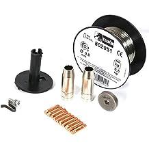 Telwin 802037 Kit soldadura acero inoxidable 0.8 mm Para MIG-MAG