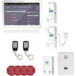 AlarmTab - sistema digital de alarma de inicio inteligente de 360 ° - set de inicio