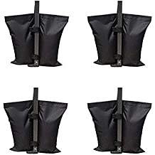 Rzmayis All Seasons Gazebos Weights, 4 Pack de bolsas de pesas de grado industrial,