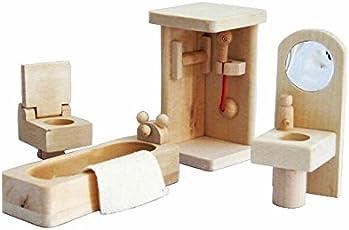munchkin land Doll House Bathroom Furniture set