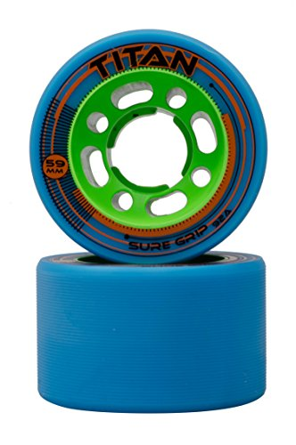suregrip-roller-derby-ruota-titan-59-mm-92-a-dimensione-one-size-green-blue-59mm-92a