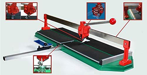 Fliesenschneidmaschine 900 mm Kugellagerführung Fliesenschneider Schneidmaschine