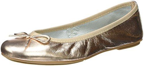 tamaris-damen-22165-geschlossene-ballerinas-gold-rose-metallic-952-41-eu