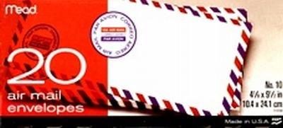 mead-enveloppes-airmail-10-20-enveloppes-lot-de-6