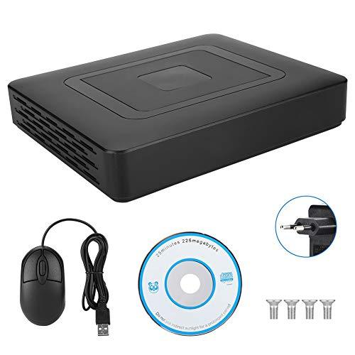4 Channel CCTV Sicherheit Digital Video Recorder, CCTV AHD/CVI/TVI/DVR/NVR 5-in-1-Kamera Bewegungserkennung Home Surveillance Camera System Kit(EU) -