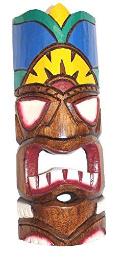 Tiki-Hawaii-Mscara-de-pared-30-cm-diseo-de-mar-del-sur