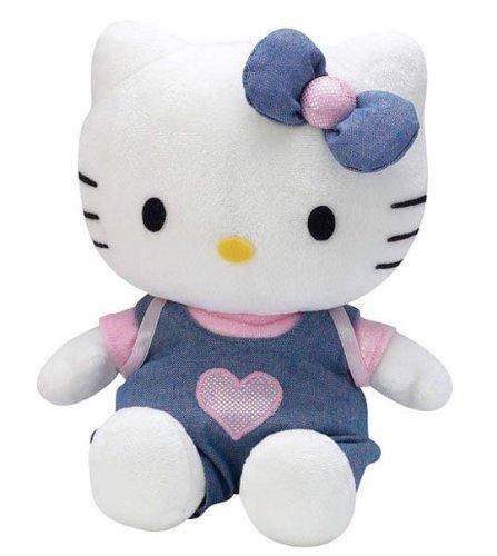 Jemini Peluche - Hello Kitty - Habillée Robe rose