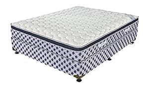 King Koil Euro Memory 6-inch King Size Rebonded Foam Mattress (Off White, 78x72x6)