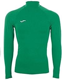 Joma Brama Classic, Camiseta térmica Unisex, Verde, L/XL