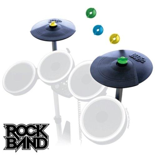 Rock Band 2 Schlagzeug Becken Double Cymbal Expansion Kit auch für XB360 und Wii