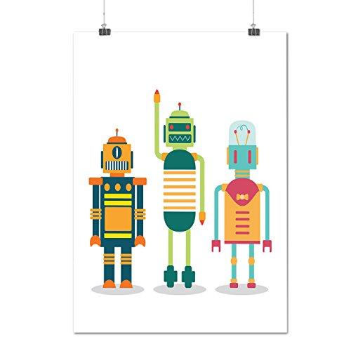 dessin-anime-robot-fete-enfant-amusement-la-matte-glace-affiche-a2-60cm-x-42cm-wellcoda