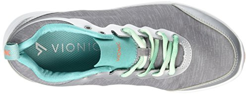Vionic by Orthaheel Womens Fyn Grey Fabric Athletics 10 B(M) US Grey (Lt Grey)