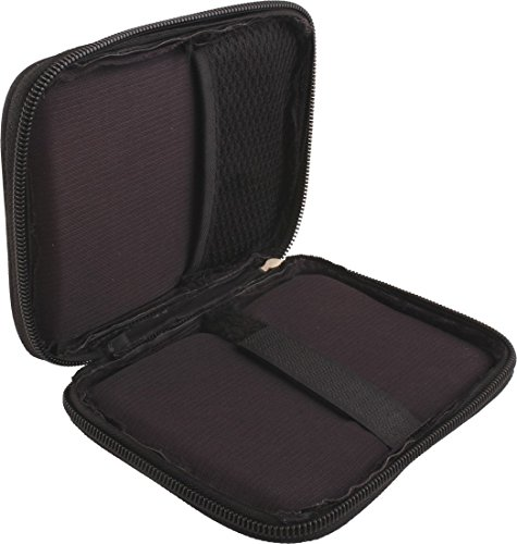 Generix HDD Hard Disk Case/Cover Carry Pouch For External Hard Disk 2.5 Inch [BLACK]