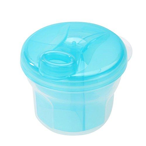 1Stück 3Schicht Rotary Milk Powder Box Sicherheit Aufbewahrungsbox Aufbewahrungsbehälter Produkt tragbar Milk Powder Tank Baby Lebensmittel A1 (Organizer Dia-box)
