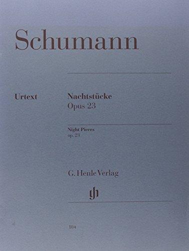Nachtstucke Opus 23 - Piano - Henle