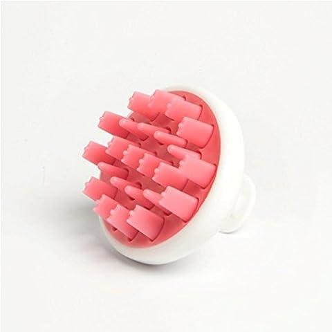 Zyllion ZMA-12-PK Shampoo Scalp Massage Brush (Pink)