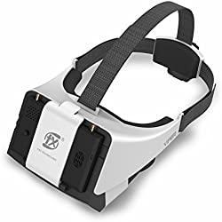 V2.0 FXT Viper Gafas FPV 5.8GHz 40CH , Pantalla Desmontable de 5 Pulgadas con HDMI , Diversity RX, DVR para Drones o RC