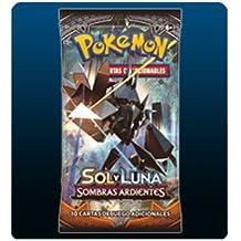 Pokémon POSMBS02 - Sol y Luna, Sombras Ardientes, Sobre 10 cartas aleatorias