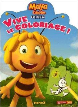 Maya L'Abeille Le film - Vive le coloriage de Animation STUDIO 100 (Illustrations) ( 22 janvier 2015 ) par Animation STUDIO 100 (Illustrations)