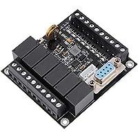 Mootea Controlador PLC de 24 V, placa de control programable industrial PLC Módulo de controlador de relé FX1N-14MR