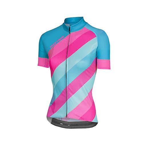 Uglyfrog Damen Fahrradtrikot,Outdoor Damen Kurzarm Radtrikot Jersey/Fahrradbekleidung, Schnell Rocknend Fahrradkleidung Für Rennrad,Radsport