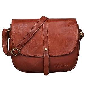 STILORD 'Kira' Umhängetasche Frauen Leder Vintage kleine Handtasche zum Ausgehen Klassische Abendtasche Partytasche…