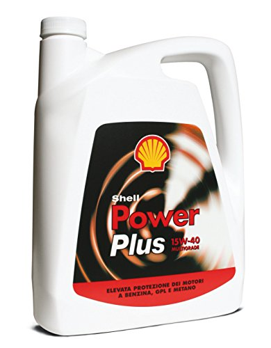 Olio Shell Power Plus 15w40 4L Lubrificante per auto