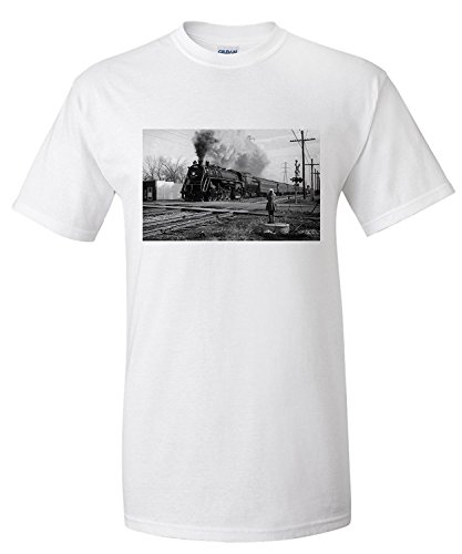 grand-trunk-western-train-at-crossroads-premium-t-shirt