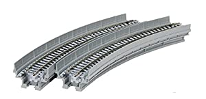 Kato 7077103 Unitrack Gleis - NBS viaducto en Curva 1-348-R Pista 30o, 2 St
