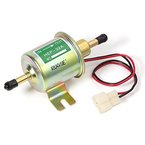 Preisvergleich Produktbild Rupse 12V Kraftstoffpumpe Benzinpumpe Elektrisch Diesel Benzin HEP-02A