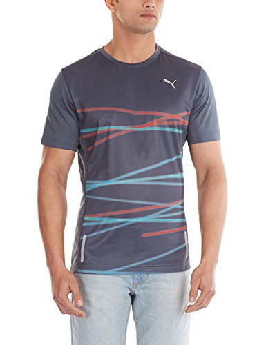PUMA Herren T-Shirt PR Graphic 1 Up Short Sleeve Tee Turbulence-Graphic