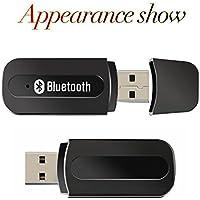Andven Receptor Bluetooth USB, Mini Portátil Inalámbrico Música Estéreo Adaptador para el Sistema de Altavoces del Automóvil, Estéreo Doméstico etc