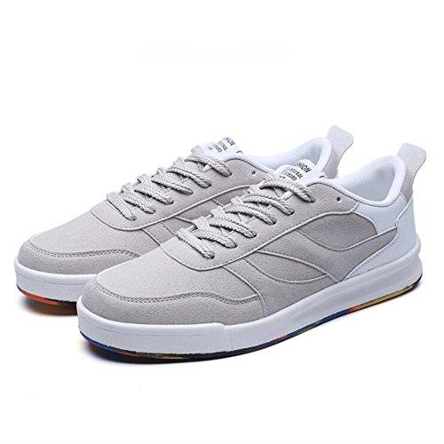 FEIFEI Scarpe da uomo Primavera e Autunno Moda Personalità resistente all'usura scarpe piatto 3 colori ( Colore : 03 , dimensioni : EU40/UK7/CN41 ) 01