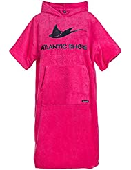 Atlantic Shore | Surf Poncho (Unisex) * Peignoir / Déshabillé de cotton de haute qualité ➤ Rose