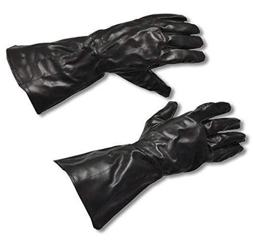 Wars Lizenzierten Star Kostüm - Horror-Shop Darth Vader Handschuhe