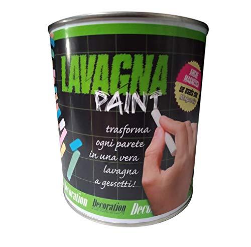 Lavagna Paint pittura effetto lavagna 500 ml colore nero
