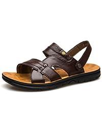 Uomini Scarpe da Spiaggia Sandali Pantofole Scarpe da Uomo Classiche Casual  Traspiranti 745165c2e09