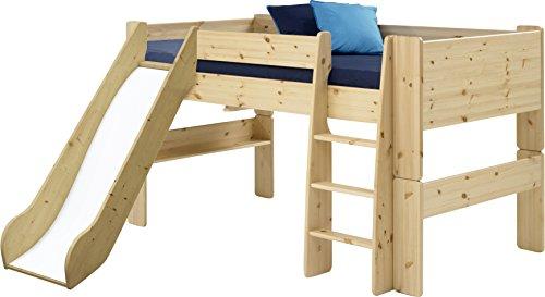 Steens For Kids Kinderbett, Hochbett, inkl. Rutsche