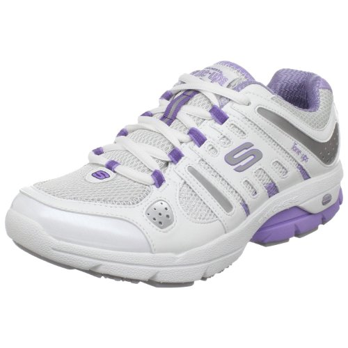 Skechers ,  Sneaker donna (Blanc / parme / argent)